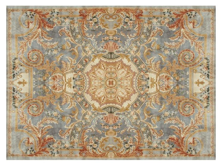 Rectangular wool rug MONTMIRAIL by EDITION BOUGAINVILLE