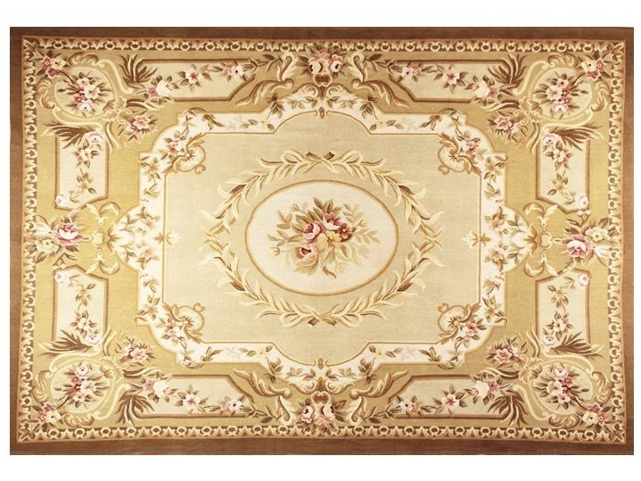 Rectangular wool rug ROSELYNE by EDITION BOUGAINVILLE