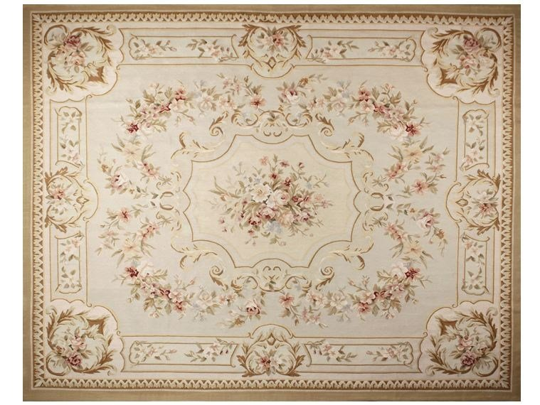 Rectangular wool rug TELMONT by EDITION BOUGAINVILLE