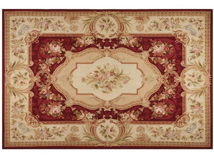 Rectangular wool rug VALMER by EDITION BOUGAINVILLE
