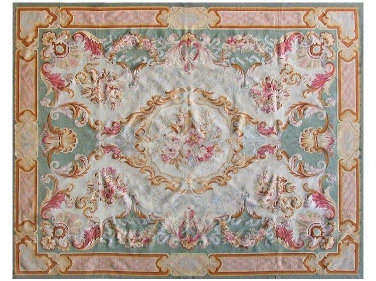 Rectangular wool rug VILLENEUVE - EDITION BOUGAINVILLE