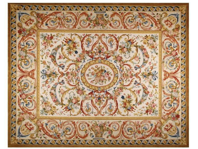 Rectangular wool rug VOUGEOT - EDITION BOUGAINVILLE