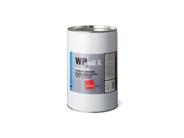 Surface water-repellent product WP-oil X - GATTOCEL Italia