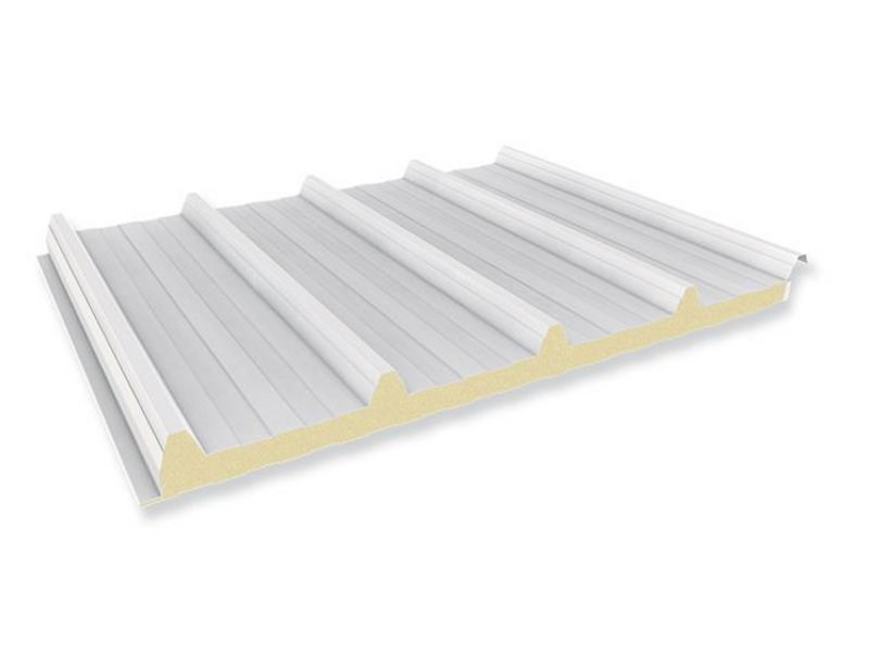 Insulated metal panel for roof PENTA by ITALPANNELLI