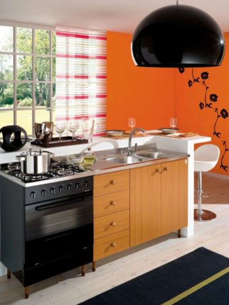 Modulo cucina freestanding in nobilitato cucina gruppo - Cucina freestanding ...