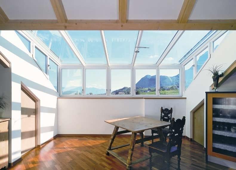 Lucernario continuo lucernario in vetro finstral - Autorizzazione condominio per ampliamento piano casa ...