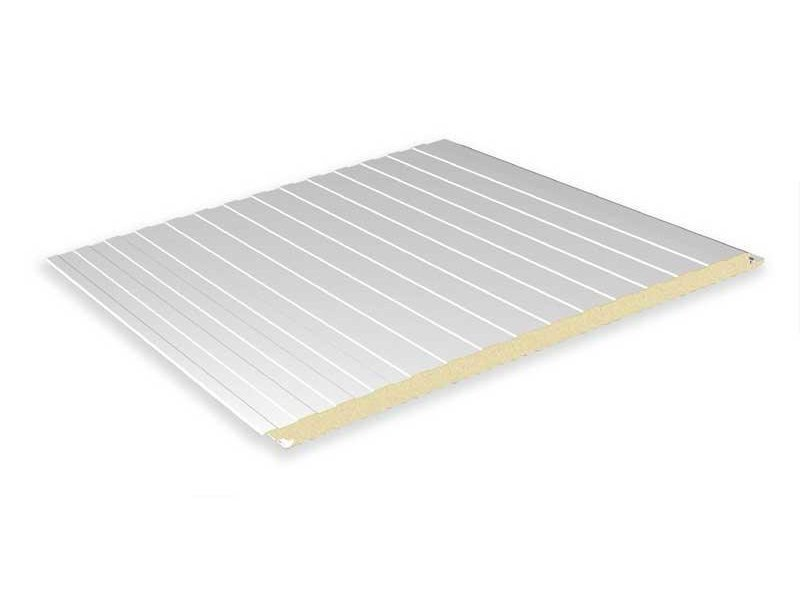 Insulated metal panel for facade TOP - ITALPANNELLI