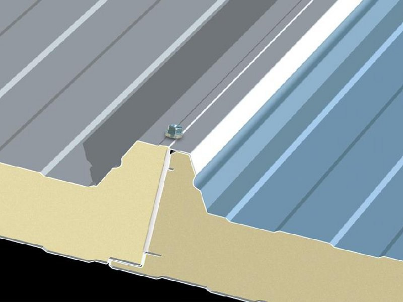 Insulated metal panel for roof ITALVOLTAICO® - ITALPANNELLI