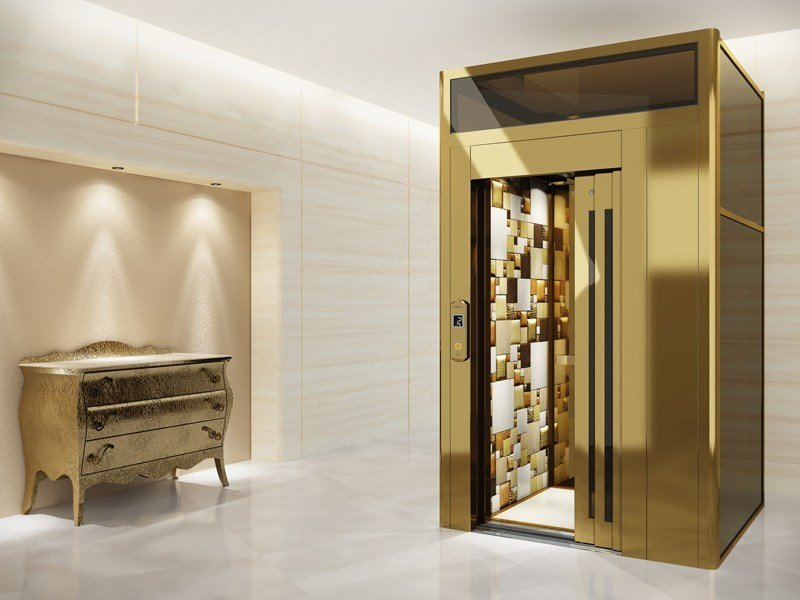 House lift DOMUSLIFT LEATHER | House lift - IGV GROUP