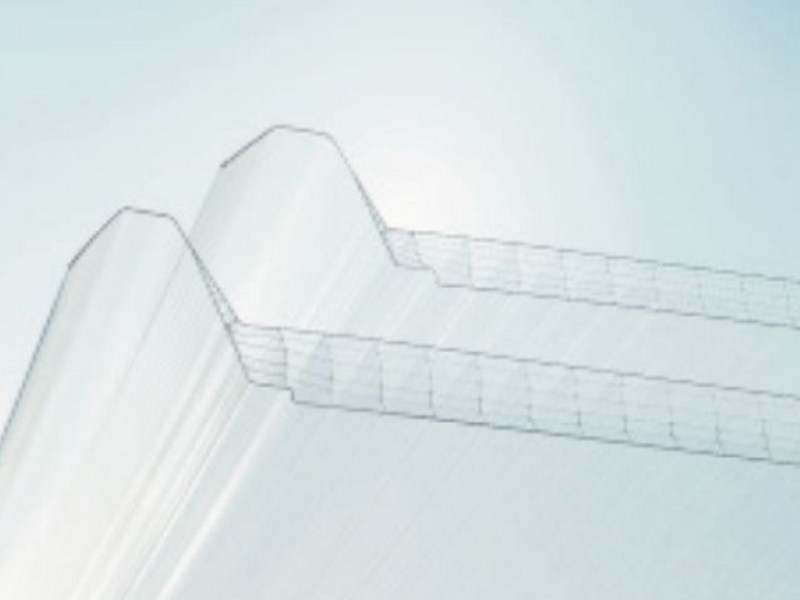 Polycarbonate sheet AKRALUX Panel by AKRAPLAST  SISTEMI