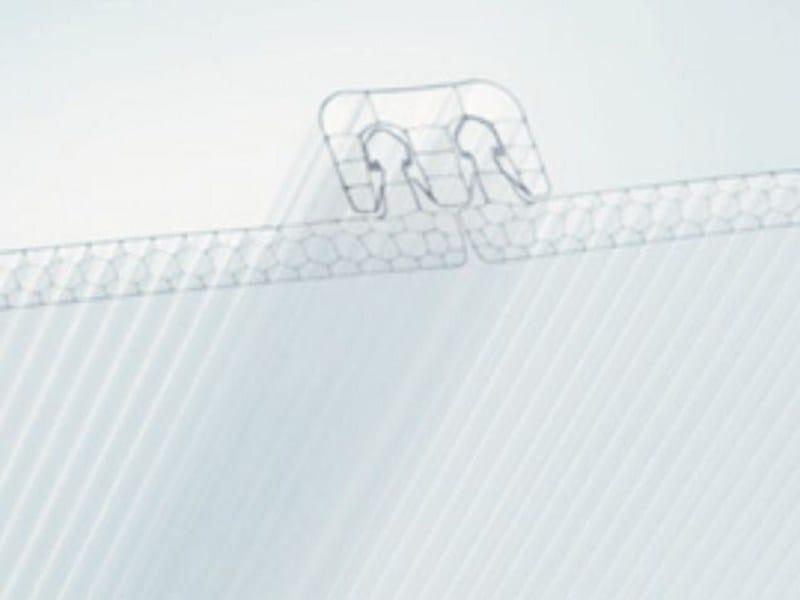 Polycarbonate sheet SUN CLICK - AKRAPLAST SISTEMI