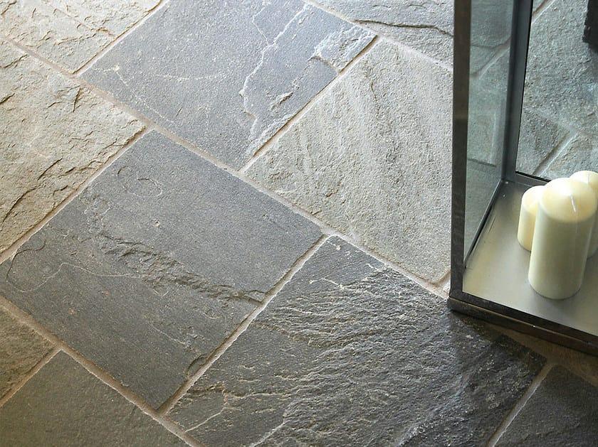 Pavimento in ardesia per interni ed esterni argentera pavimento in pietra naturale b b - Pavimenti ardesia per interni ...