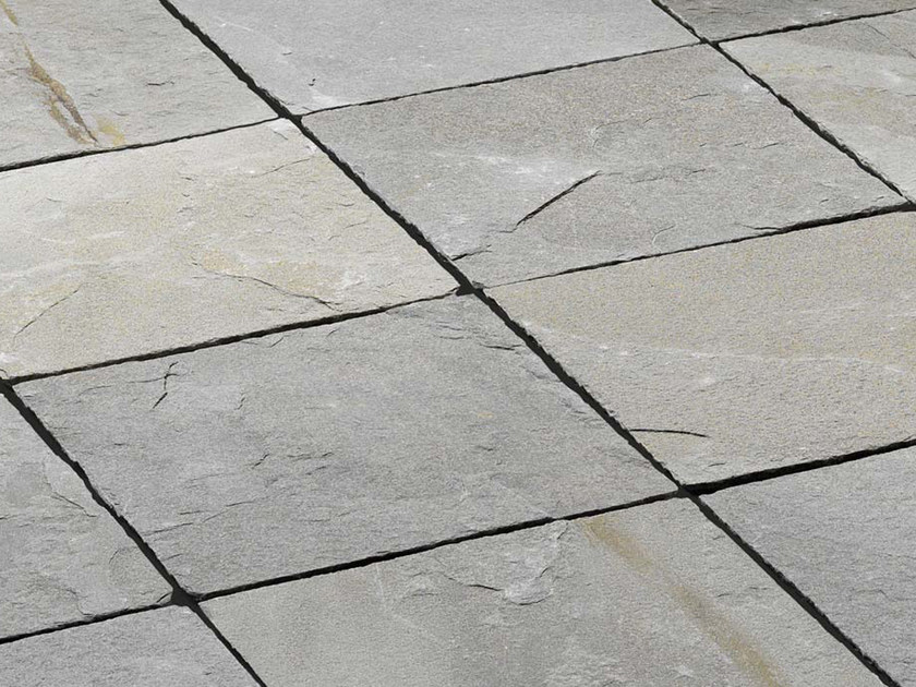 Indoor/outdoor slate flooring ARGENTERA | Natural stone flooring by B&B Rivestimenti Naturali