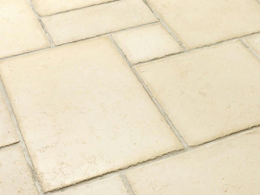 Indoor/outdoor calcareous stone flooring AURELIA | Natural stone flooring by B&B