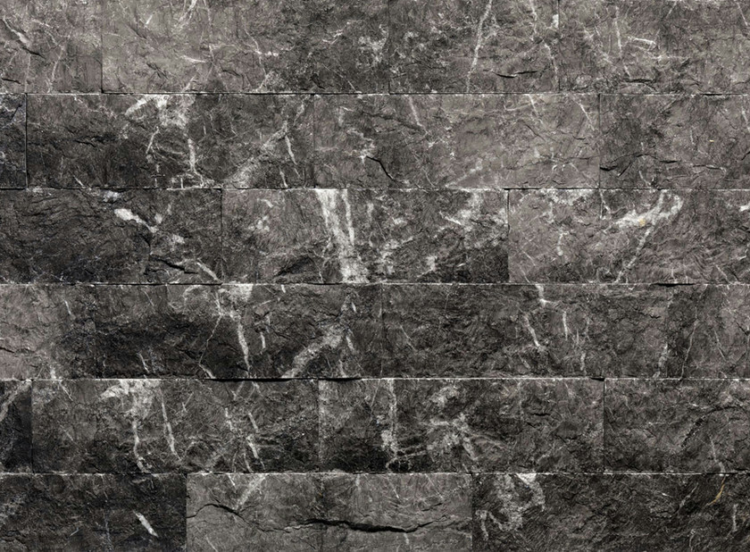 Natural stone finish GRIGIO CARNICO R | Natural stone wall tiles - B&B