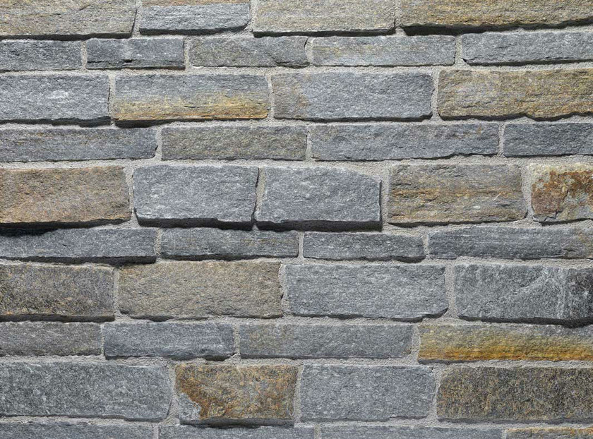 Natural stone finish LUSERNA REALE | Natural stone wall tiles by B&B Rivestimenti Naturali
