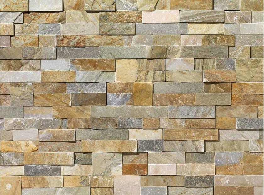 Revestimiento de fachada de piedra natural scaglia by b b - Paredes de piedra natural ...