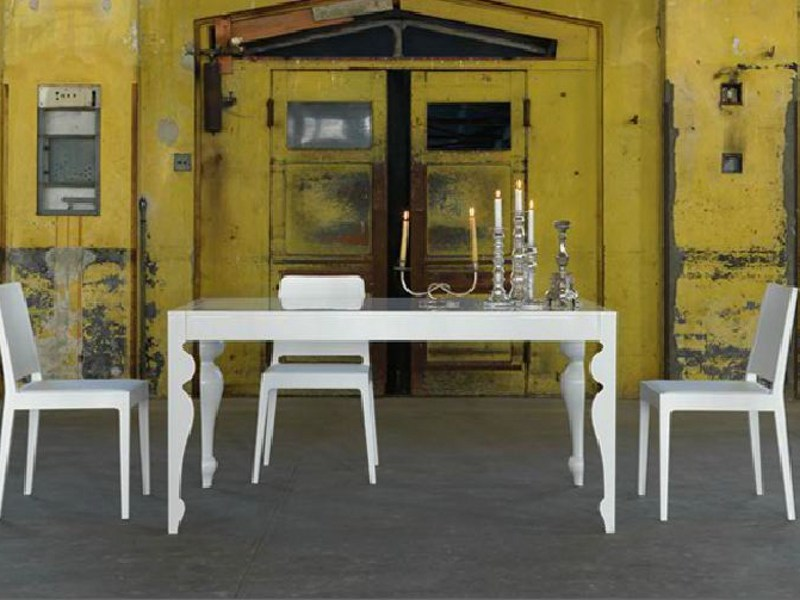 Extending wooden dining table GIUNONE | Extending table by LINFA DESIGN