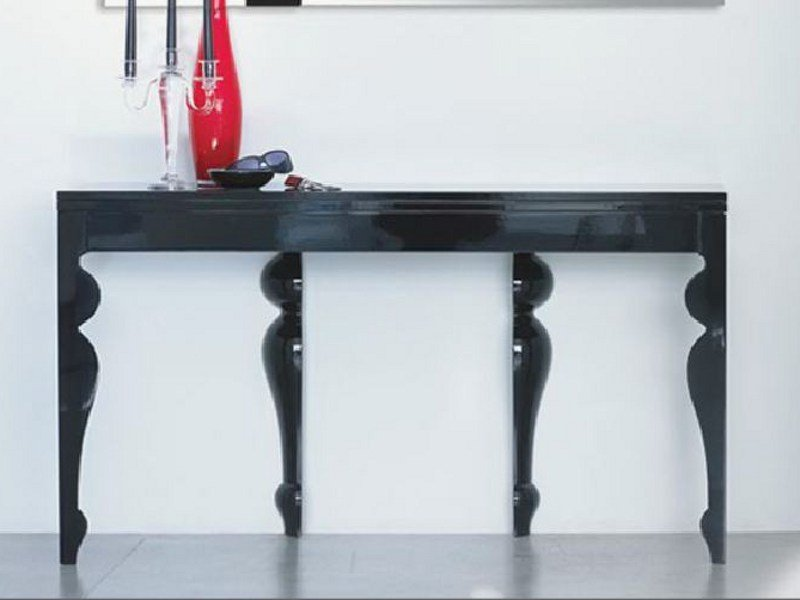 Extending wooden console table GIUNONE | Console table - LINFA DESIGN