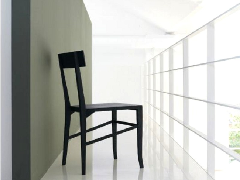 Solid wood chair SANTORINI - LINFA DESIGN