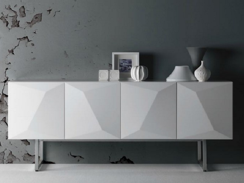 Wooden sideboard with doors PRISMA | Sideboard - LINFA DESIGN