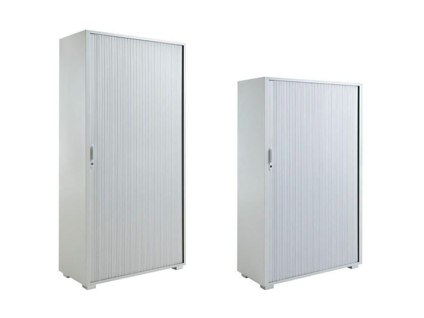 Office storage unit with tambour doors TAMBOURS - Dieffebi