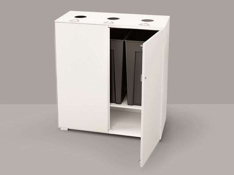 Waste bin for waste sorting PRIMO RECYCLING UNIT by Dieffebi