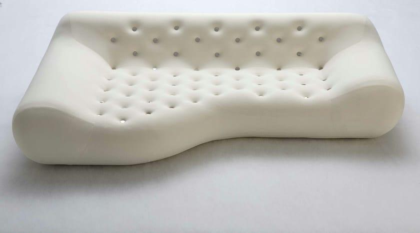 Design sofa with removable cover with fire retardant padding SUPERSTAR - GIOVANNETTI COLLEZIONI