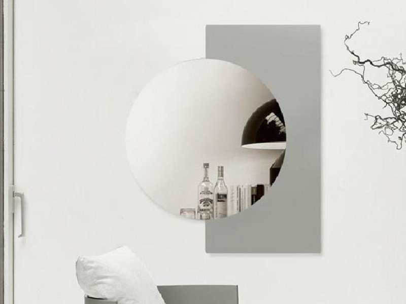 Round wall-mounted mirror LUNA - LINFA DESIGN