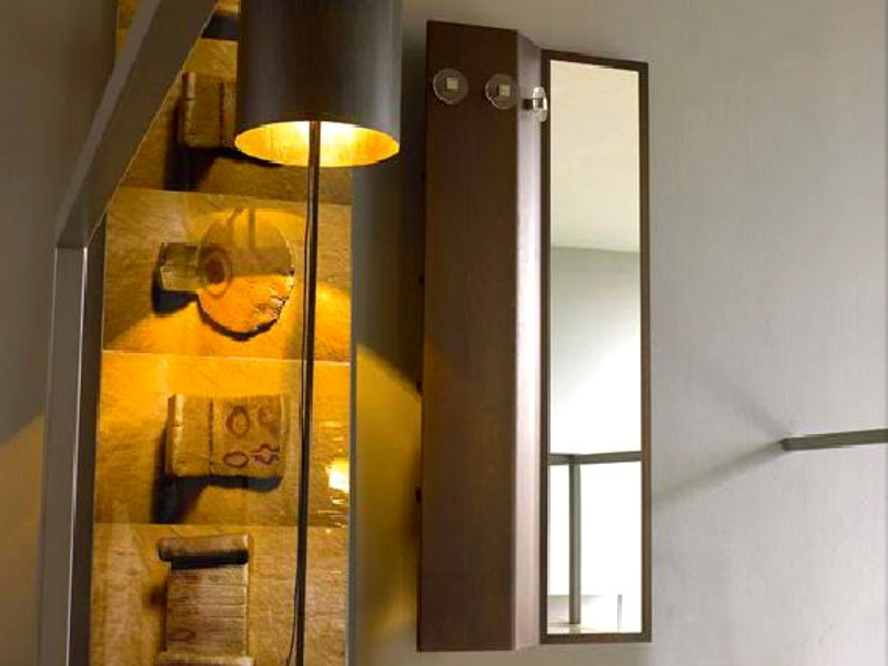 Rectangular framed mirror WING - LINFA DESIGN