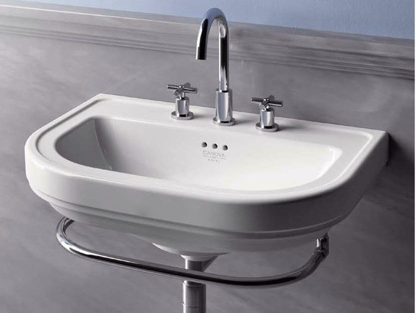 Wall-mounted washbasin CANOVA ROYAL 70 - CERAMICA CATALANO