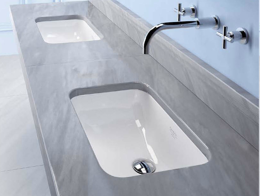 Rectangular undermount washbasin CANOVA ROYAL 55 | Washbasin - CERAMICA CATALANO