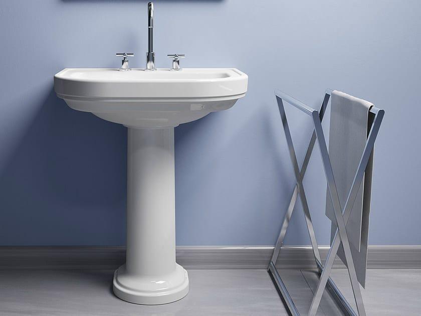Pedestal washbasin CANOVA ROYAL 70 - CERAMICA CATALANO
