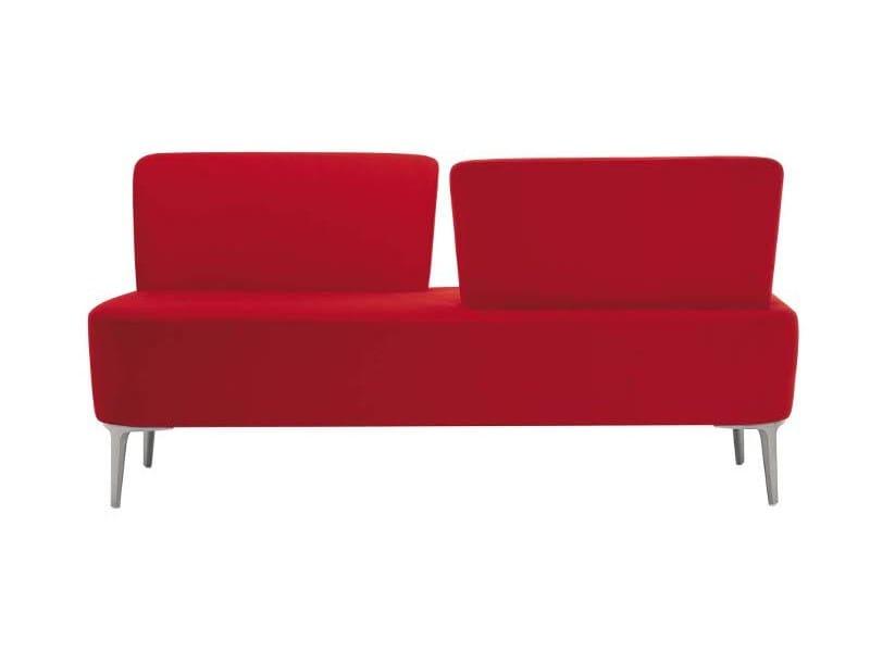 2 seater sofa alphabet zeta a vis by segis design roberto romanello. Black Bedroom Furniture Sets. Home Design Ideas