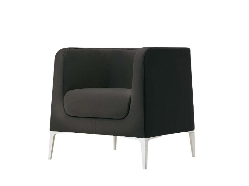 Armchair with armrests ALPHABET - DTA | Armchair by Segis