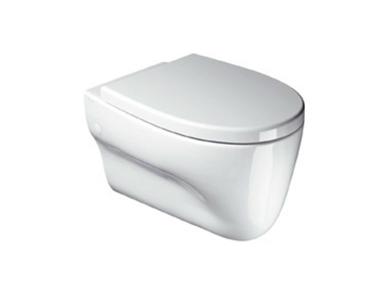 Wall-hung ceramic toilet MUSE 56X36 | Toilet - CERAMICA CATALANO