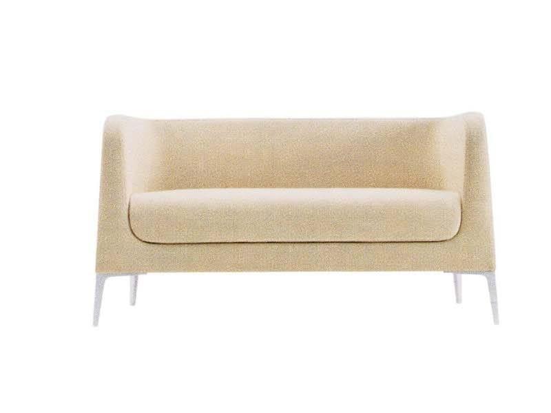 Fabric small sofa ALPHABET - DTA | Small sofa - Segis