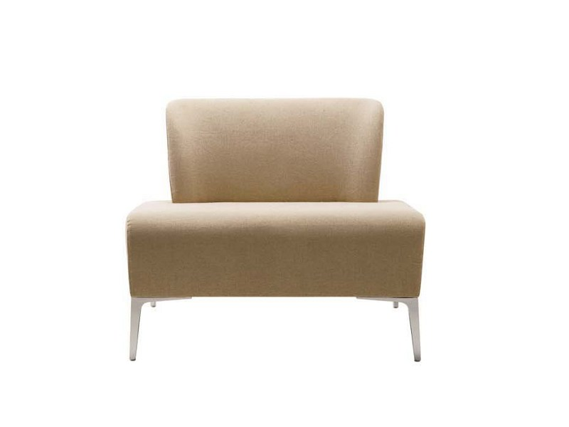 Upholstered fabric armchair ALPHABET - FI LARGE | Armchair by Segis