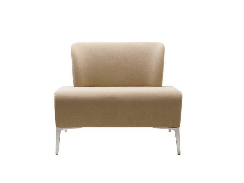 Upholstered fabric armchair ALPHABET - FI LARGE | Armchair - Segis