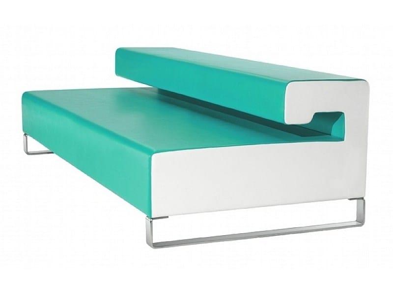 Upholstered bench SLIZE - ISD