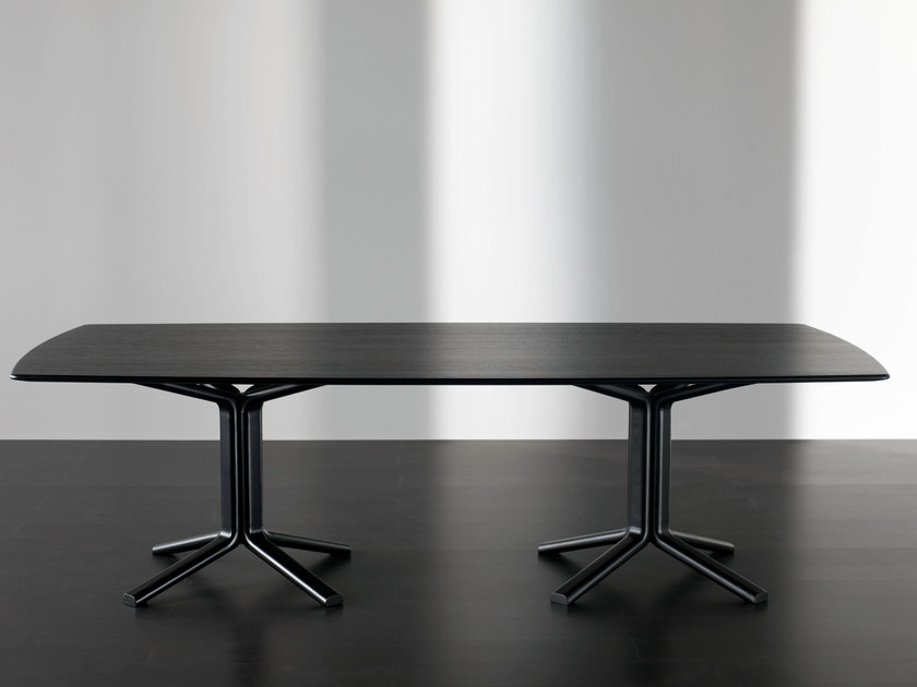 Rectangular dining table MILLER | Rectangular table - Meridiani