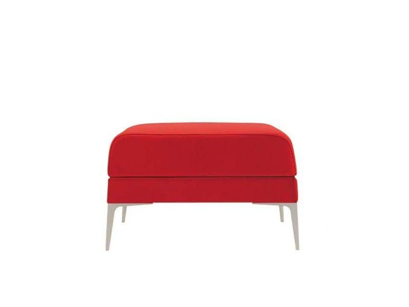 Upholstered pouf ALPHABET - HI OMEGA | Pouf by Segis