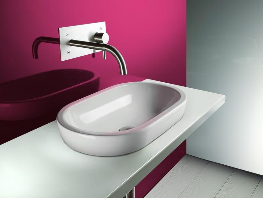 Countertop ceramic washbasin SFERA 55 | Washbasin - CERAMICA CATALANO