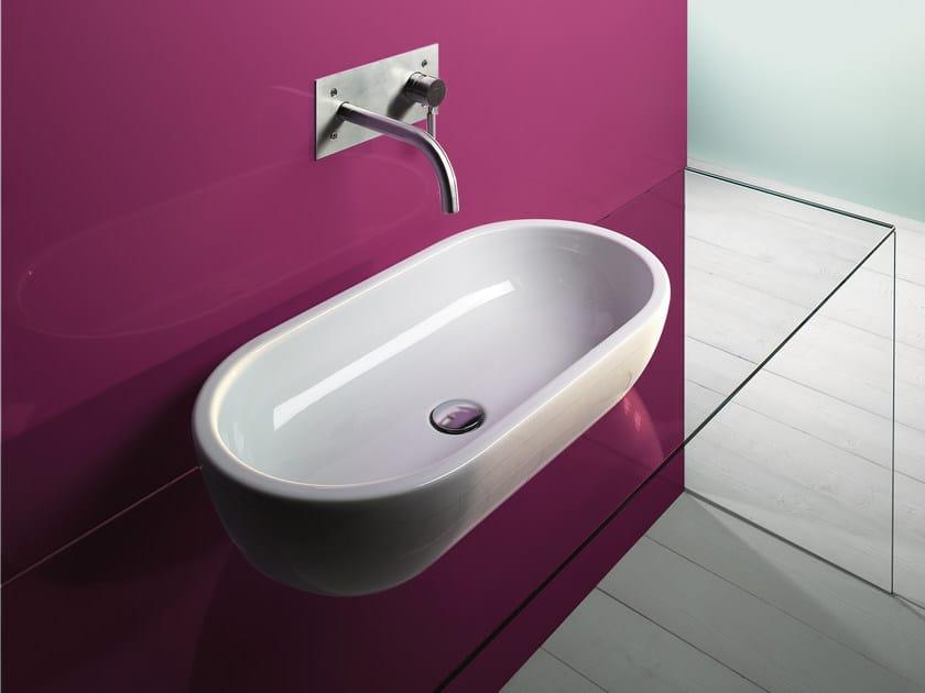 Countertop ceramic washbasin SFERA 70 | Washbasin - CERAMICA CATALANO