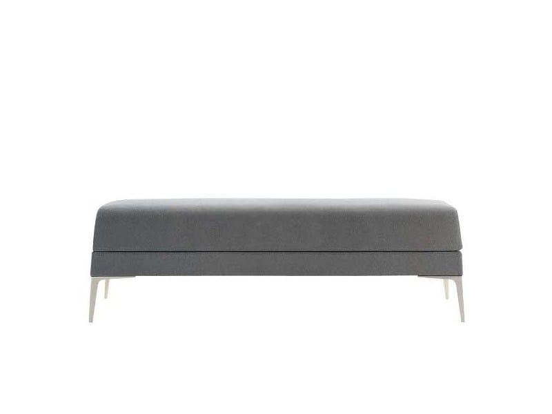 Upholstered fabric bench ALPHABET - OMG MAXI - Segis