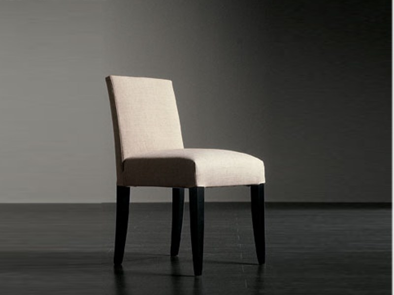 Upholstered fabric chair ROBERT - Meridiani