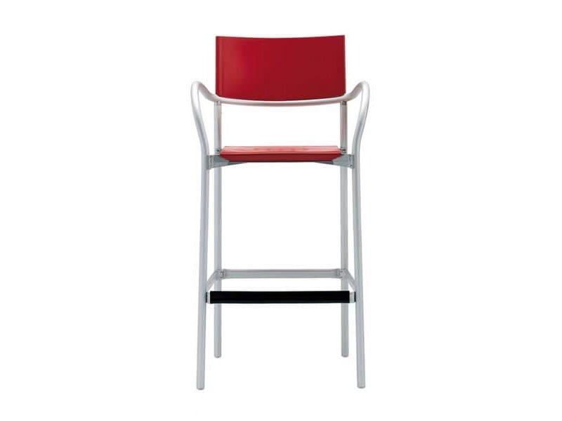 Polypropylene counter stool BREEZE G0524 - Segis