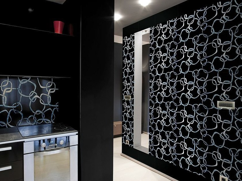 Glass wall/floor tiles DECORATIVE RINGS - Brecci by Eidos Glass