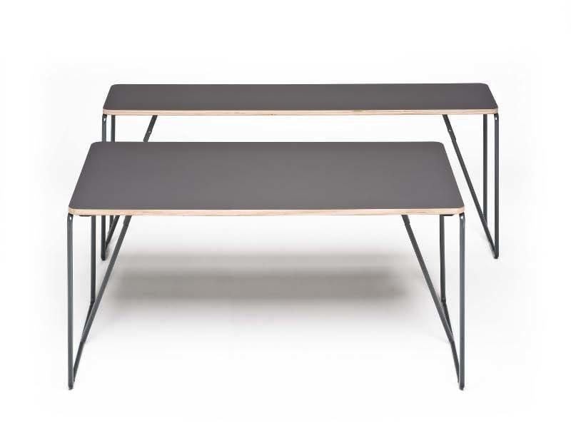 Folding steel bench desk FOLD-UP - Segis