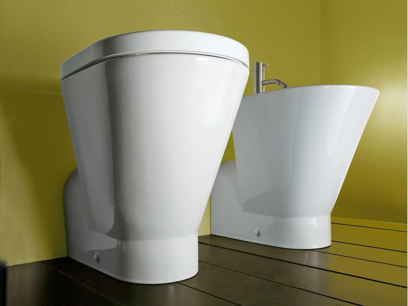 Ceramic toilet VERSO COMFORT 58 | Toilet - CERAMICA CATALANO